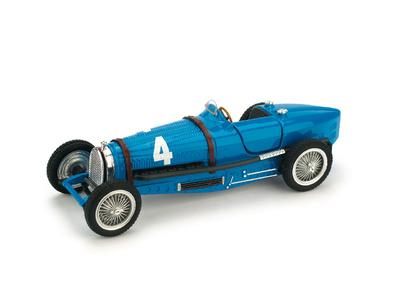 """Bugatti Tipo 59 """"GP. Bélgica"""" nº 4 R. Dreyfus (1934) Brumm 1/43"""