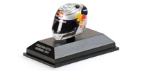 "Casco Arai ""GP. China"" Sebastian Vettel (2009) Minichamps 1:8"