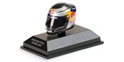 "Casco Arai ""GP. Japón"" Sebastian Vettel (2009) Minichamps 381090401 1:8"