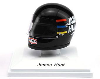 Casco James Hunt (1976) True Scale Models 1/8