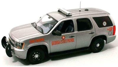 "Chevrolet Tahoe PPV GMT900 ""Georgia State Patrol"" (2007) FRR 175716 1:43"