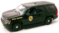 "Chevrolet Tahoe PPV GMT900 ""Maryland State Police"" (2006) FFR 1/43"