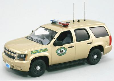 "Chevrolet Tahoe PPV GMT900 ""Missouri State Police"" FRR 175720 1/43"