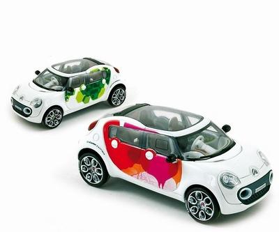 """Citroen C-Cactus Concept Car """"Salón de Ginevra"""" (2008) Provence Moulage 1/43"""