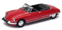 Citroen DS19 Cabriolet sin capota (1961) Welly 1:24