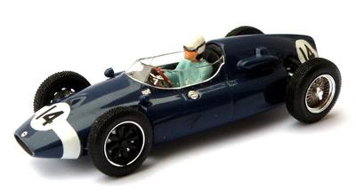 """Cooper Climax T51 """"GP. Italia"""" Stirling Moss (1959) Quartzo 1:43"""