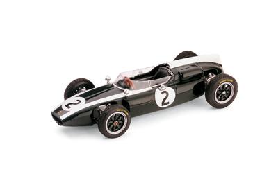 "Cooper T53 ""4º GP. Gran Bretaña"" nº 2 Bruce McLaren (1960) Brumm 1/43"