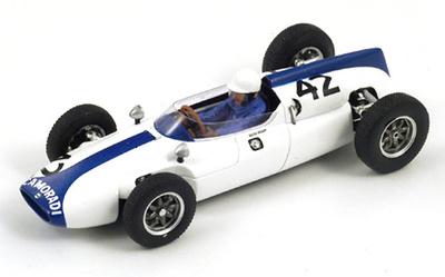 """Cooper T53 """"GP. Gran Bretaña""""  nº 42 Masten Gregory (1961) Spark 1/43"""