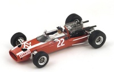 "Cooper T81 ""6º GP. México"" nº 22 Jo Bonnier (1966) Spark 1:43"