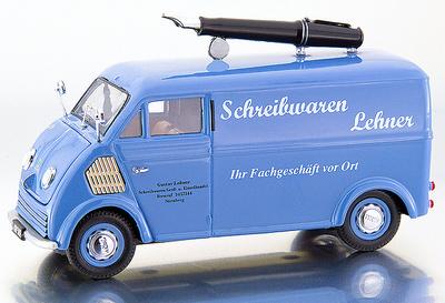 """DKW Furgoneta cerrada """"M. Füller"""" (1955) Premium Classixxs 1/43"""