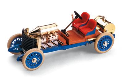 """Darracq V8 (1905) """"Record Velocidad"""" Brumm R115 1/43"""