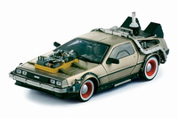 "De Lorean DMC 12 ""Regreso al futuro III"" Sun Star 1/18"