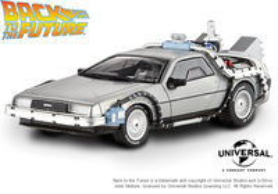De Lorean - La máquina del tiempo - Regreso al futuro II Hot Wheels 1:43