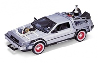 "De Lorean ""Regreso al Futuro III"" Welly 1:24"