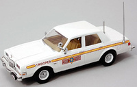 "Dodge Diplomat Serie II ""Illinois State Police"" (1980) FRR 175705 1/43"
