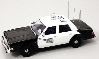 "Dodge Diplomat Serie II ""Oklahoma Highway Patrol"" (1980) FRR 1/43"