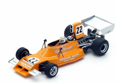 """Ensign N174 """"GP. Suecia"""" nº 22 Vern Schuppan (1974) Spark 1:43"""