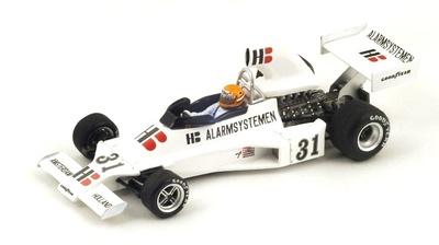 "Ensign N175 ""GP. Francia"" nº 31 Gijs Van Lennep (1975) Spark 1:43"