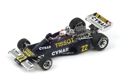 """Ensign N177 """"6º GP. Argentina"""" 1977 nº 22 Clay Regazzoni (1977) Spark 1:43"""