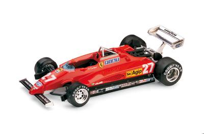 """Ferrari 126 C2 """"2º GP. Italia"""" nº 27 Patrick Tambay (1982) Brumm 1/43"""