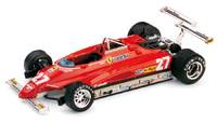 "Ferrari 126 C2 ""3º GP. USA (Long Beach)"" nº 27 Gilles Villeneuve (1982) Brumm 1/43"