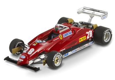 "Ferrari 126 C2 ""GP. Italia"" nº 28 Mario Andretti (1982) Hot Wheels T6939 1/43"