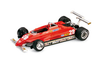 "Ferrari 126 C2 ""GP. USA Long Beach"" nº 28 Didier Pironi (1982) Brumm 1/43"