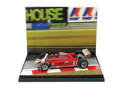"Ferrari 126 CK Turbo ""GP. Canadá"" nº 27 Gilles Villeneuve (1981) Brumm 1/43"