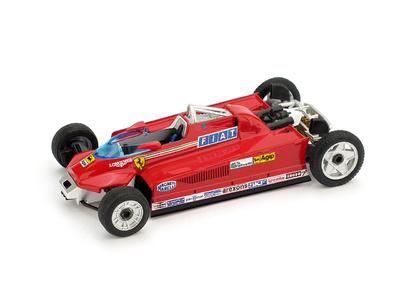 "Ferrari 126CK -Muletto- ""GP. Mónaco"" nº 27 Gilles Villeneuve (1981) Brumm 1/43"