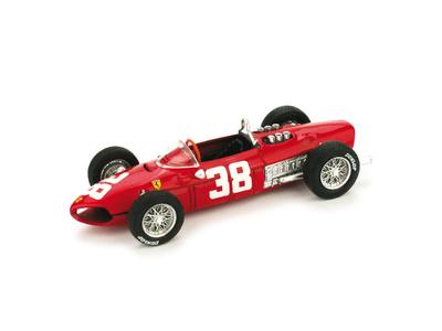 "Ferrari 156 F1 ""3º GP. Mónaco"" nº 38 Phil Hill (1961) Brumm 1/43"