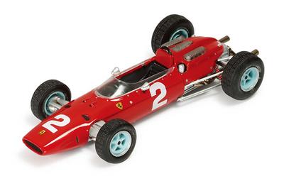 "Ferrari 158 F1 ""GP. Monza"" nº 2 John Surtees (1964) Ixo SF1564 1/43"
