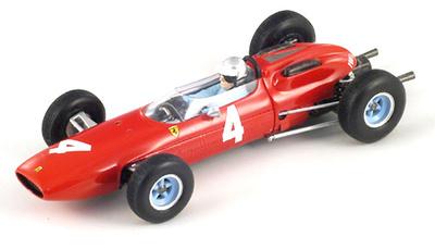 "Ferrari 158 ""GP. Alemania"" nº 4 Lorenzo Bandini (1964) Spark Red Line 1/43"