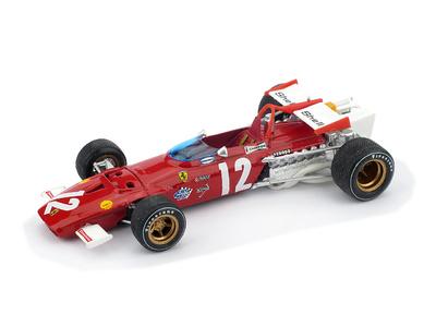 """Ferrari 312 B """"1º GP Austria"""" nº 12 Jacky Ickx (1970) Brumm 1/43"""