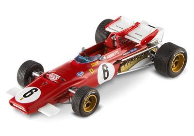 "Ferrari 312 B ""GP Sudáfrica"" nº 5 Mario Andretti (1971) Hot Wheels T6285 1/43"