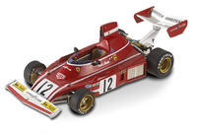 "Ferrari 312 B3 ""GP Francia"" nº 12 Niki Lauda (1974) Hot Wheels 1/43"