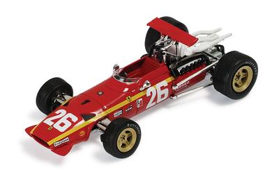 "Ferrari 312 F1 ""1º GP. Francia "" nº 26 Jacky Ickx (1968) Ixo 1/43"