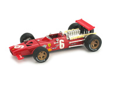 "Ferrari 312 F1 ""GP. Francia"" nº 6 Chris Amon (1969) Brumm 1/43"
