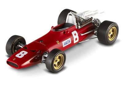 "Ferrari 312 F1 ""GP. Silverstone"" nº 8 Chris Amon (1967) Hot Wheels Elite 1/43"