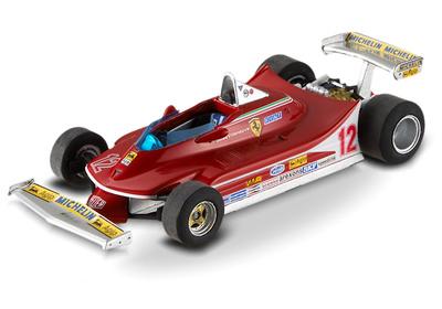 "Ferrari 312 T4 ""GP. Sudáfrica"" nº 12 Gilles Villeneuve (1979) Hot Wheels 1/43"