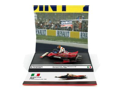 "Ferrari 312 T5 ""GP. Italia"" nº 2 Gilles Villeneuve (1980) Brumm 1:43"
