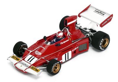 """Ferrari 312B3 """"GP. Brasil"""" nº 11 Clay Regazzoni (1974) Look Smart 1/43"""