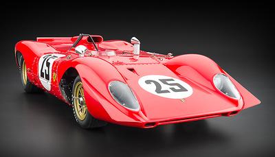 """Ferrari 312P Spyder """"Sebring"""" nº 25 Amon/Andretti (1969) CMC 1:18"""
