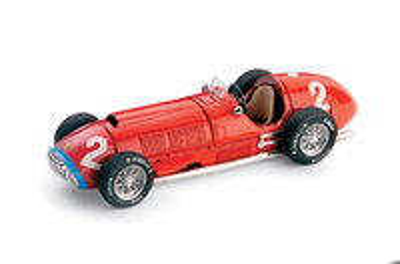 """Ferrari 375 """"1º GP. Italia"""" nº 2 Alberto Ascari (1951) Brumm 1/43"""