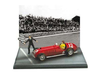 """Ferrari 375 """"GP. Gran Bretaña"""" nº 12 José Froilán Gonzalez (1951) Brumm 1/43"""