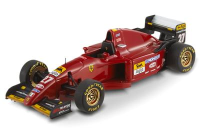 "Ferrari 412 T2 ""GP. Europa"" nº 27 Jean Alesi (1995) Hot Wheels T6286 1/43"