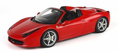 Ferrari 458 Spider (2011) BBR 1/18
