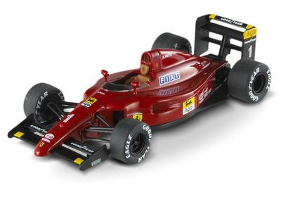 "Ferrari 641 F1-90 ""GP. Francia"" nº 1 Alain Prost (1990) Hot Wheels 1/43"