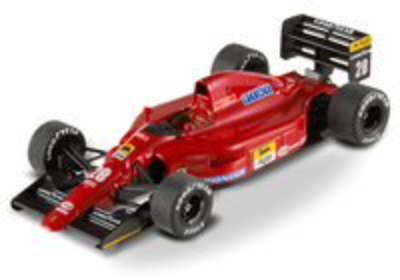 "Ferrari 642 ""GP. Mónaco"" nº 28 Jean Alesi (1991) Hot Wheels 1/43"