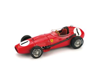 """Ferrari D246 """"1º GP. Gran Bretaña"""" nº 1 Peter Collins (1958) Brumm R069 1/43"""