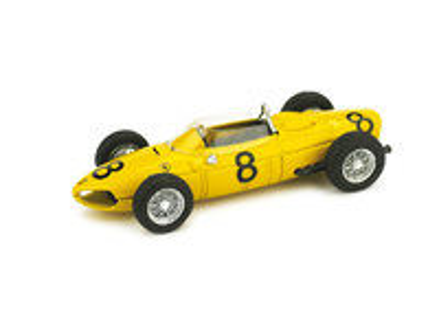 "Ferrari Dino 156 F1 ""4º GP. Belgica"" nº 8 Olivier Gendebien (1961) Brumm 1/43"